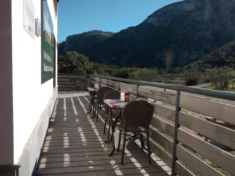 Centro de recepción de visitantes y Cantina Zaframagón