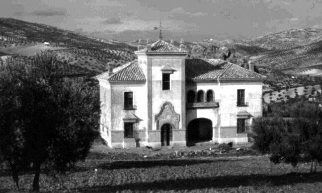 Estación de Olvera abandonada