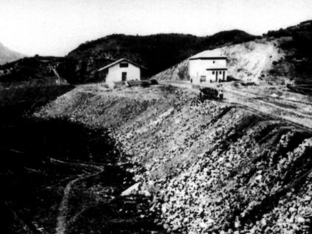 Construcción de la Estación de Navalagrulla