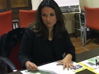 Mª Isabel Moreno. Presidenta de la Fundación Vía Verde de la Sierra