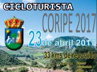 Cartel Cicloturista Coripe 2017