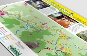 Descarga el mapa oficial de la Vía Verde de la Sierra