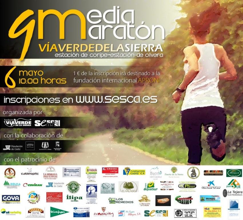 Celebrada la 9ª edición de la 1/2 Maratón por la Vía Verde de la Sierra 1