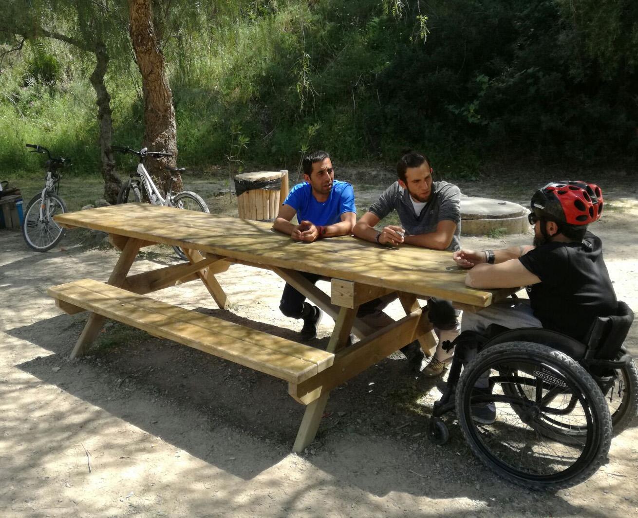 La Vía Verde de la Sierra continúa su apuesta por la Accesibilidad 3