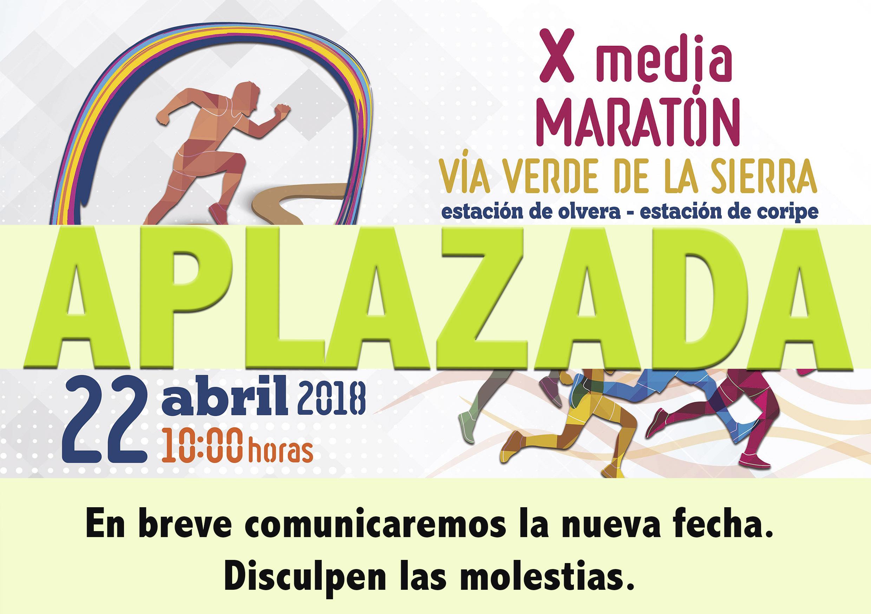 Aplazada la X Media Maratón Vía Verde de la Sierra