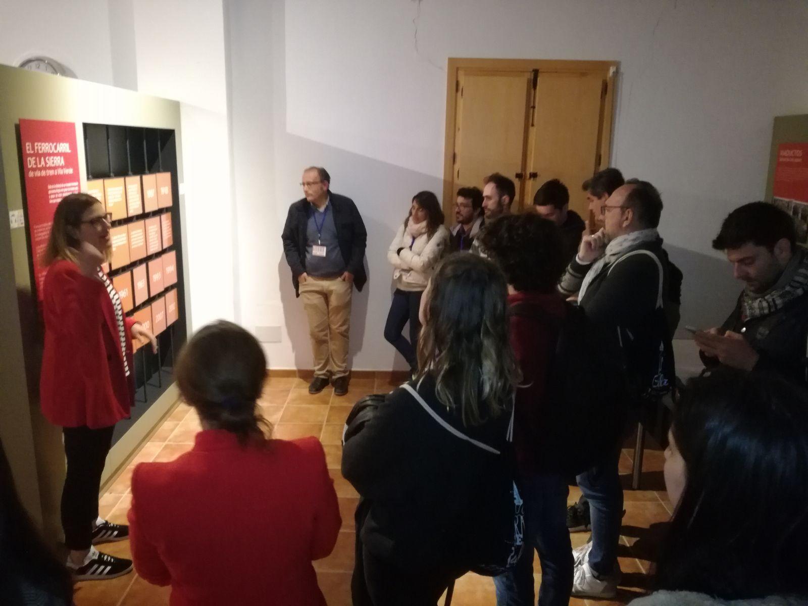"""La Vía Verde de la Sierra promocionada por periodistas y blogueros de la ruta """"A una hora de Cádiz"""" 3"""