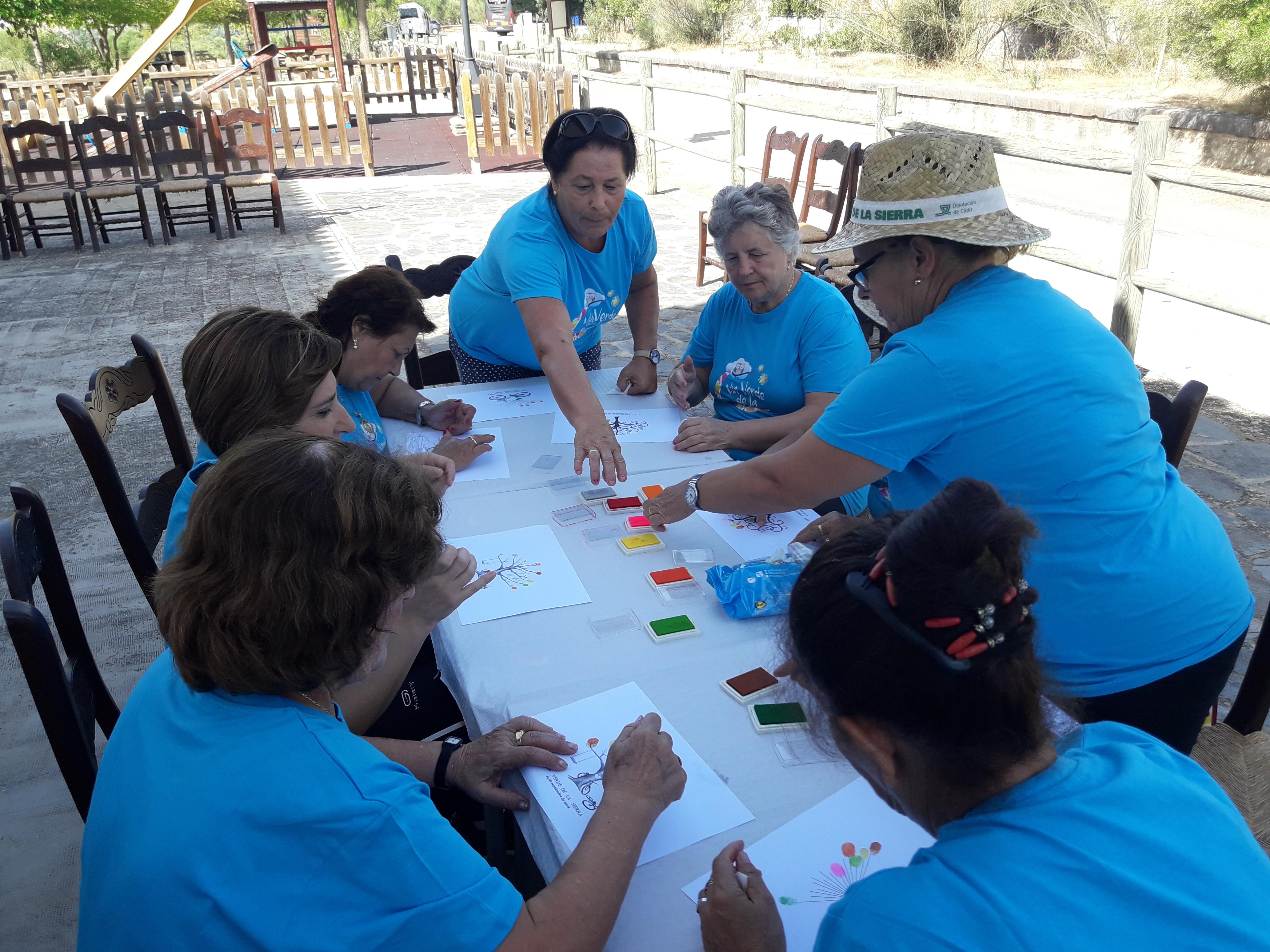 La Vía Verde de la Sierra celebra el 11º Encuentro anual de Personas con necesidades especiales y mayores