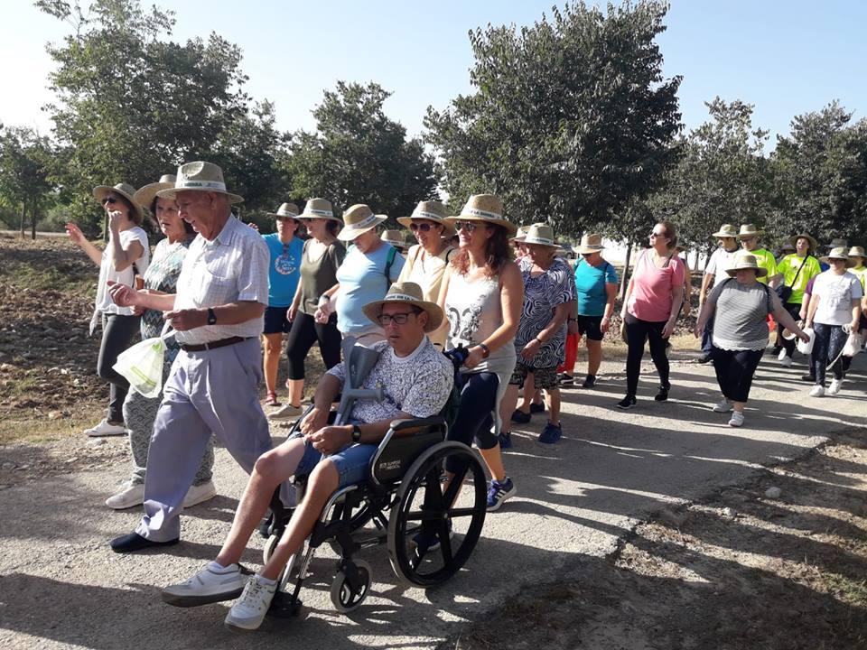 La Vía Verde de la Sierra nuevamente escenario del Encuentro anual de Personas con necesidades especiales y mayores 1