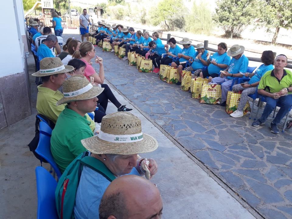 La Vía Verde de la Sierra nuevamente escenario del Encuentro anual de Personas con necesidades especiales y mayores 2