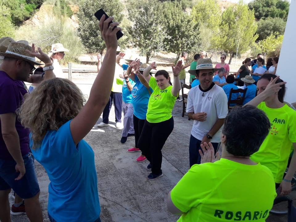 La Vía Verde de la Sierra nuevamente escenario del Encuentro anual de Personas con necesidades especiales y mayores 3